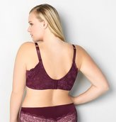 Avenue Plum Noir Lace Back Smoother Underwire Bra