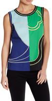 Vivienne Tam Wave Color Block Shirt