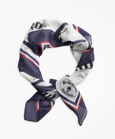 Brooks Brothers Cotton Sailboat Scarf