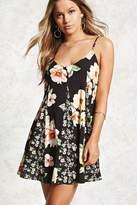 Forever 21 Floral Patchwork Cami Dress