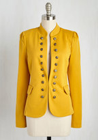 YA (yalosangeles) I Glam Hardly Believe It Jacket in Goldenrod