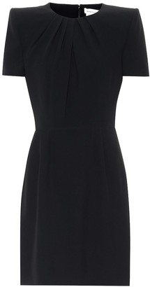 Alexander McQueen Short-sleeved minidress