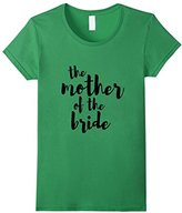 Women's The Mother of the Bride Wedding Shirt Bridal Party Large