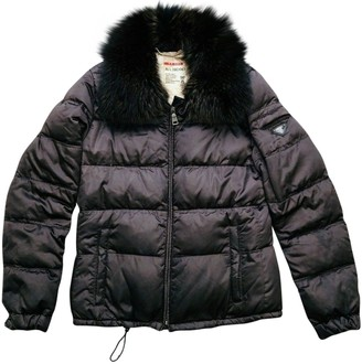 Prada Brown Fur Coat for Women