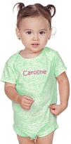 Princess Linens Green Personalized Bodysuit - Infant