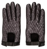 Rag & Bone Metallic Leather Gloves