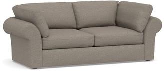 Pottery Barn PB Air Roll Arm Upholstered Sofa