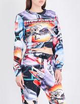 Moschino Transformers cotton-jersey sweatshirt