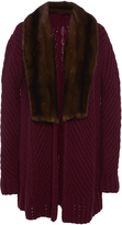 J. Mendel Fur Collar Cardigan