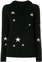 Chinti & Parker star patch hooded jumper