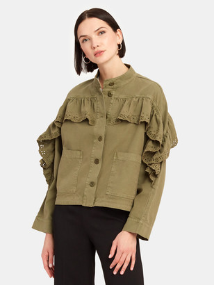 The Great The Eyelet Army Jacket