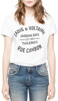 Zadig & Voltaire Cambon Walk T-Shirt