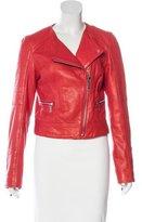 Michael Kors Asymmetrical Leather Jacket