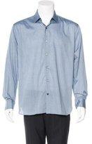John Varvatos Striped Woven Shirt w/ Tags