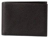 Boconi Men's Garth Leather Bifold Wallet - Black