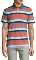 Original Penguin Striped Pique Cotton Polo