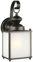 """575 Denim Verville Outdoor Wall Lantern Darby Home Co Bulb Included: Yes, Size: 12.5"""" H x 5.25"""" W x D"""