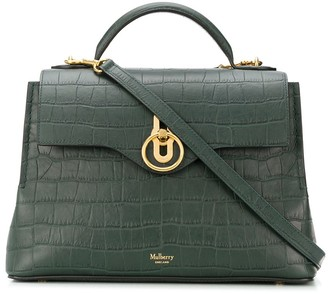 Mulberry Seaton embossed tote bag