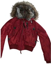 Parajumpers Burgundy Fox Coat for Women