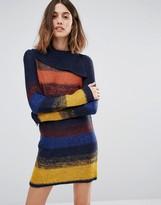 Vero Moda Stripe Cowl Neck Tunic