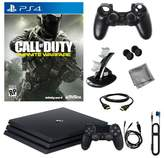 "Sony PlayStation 4 Pro 1TB Console with ""Call of Duty: Infinite Warfare"" and 8-piece Starter Kit"