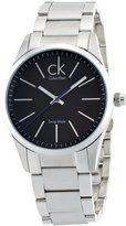 Calvin Klein Men's K2241102 Bold Analog Display Swiss Quartz Silver Watch