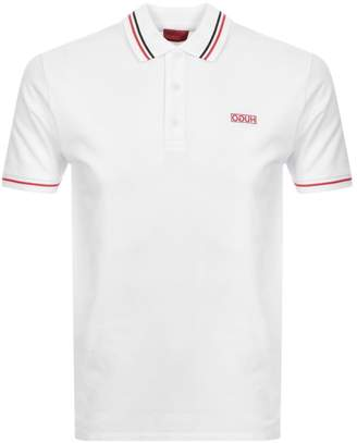 HUGO Daruso194 Polo T Shirt White