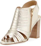 Neiman Marcus Benny Two-Zip City Sandal