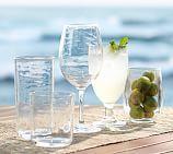 "Pottery Barn 8.75"" Wine Glass, Set of 6"