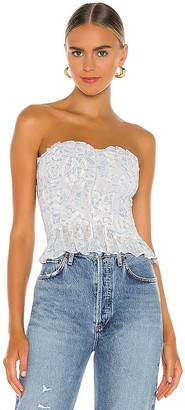 Free People Brighter Mornings Tube Top