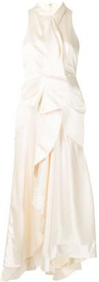 Acler Millbank draped sleeveless dress