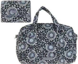 Vera Bradley Signature 100 Handbag with RFID Riley Compact Wallet