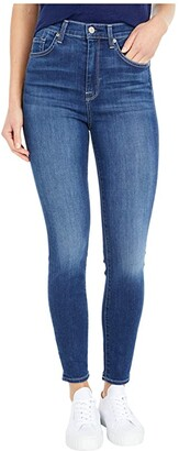 7 For All Mankind High-Waisted Ankle Skinny in Duchess (Duchess) Women's Jeans