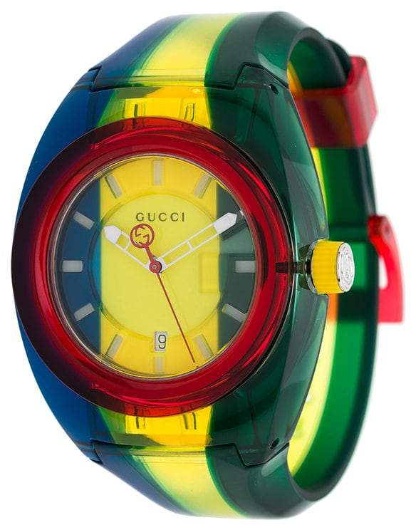Gucci striped watch