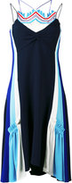 Peter Pilotto embroidered insert dress - women - Acetate/Viscose - 8