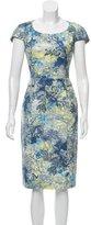 Erdem Printed Sheath Dress