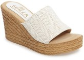 Sbicca Women's Mary Espadrille Platform Wedge
