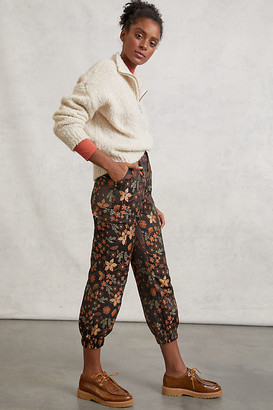 En Saison Curtis Jacquard Joggers By in Assorted Size XS