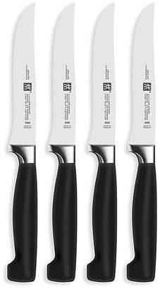 Zwilling J.A. Henckels Four Star 4-Piece Steak Knife Set