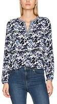 Tom Tailor Women's Feminine Print Mix Blouse