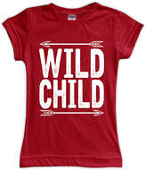 Urban Smalls Red 'Wild Child' Fitted Tee - Toddler & Girls