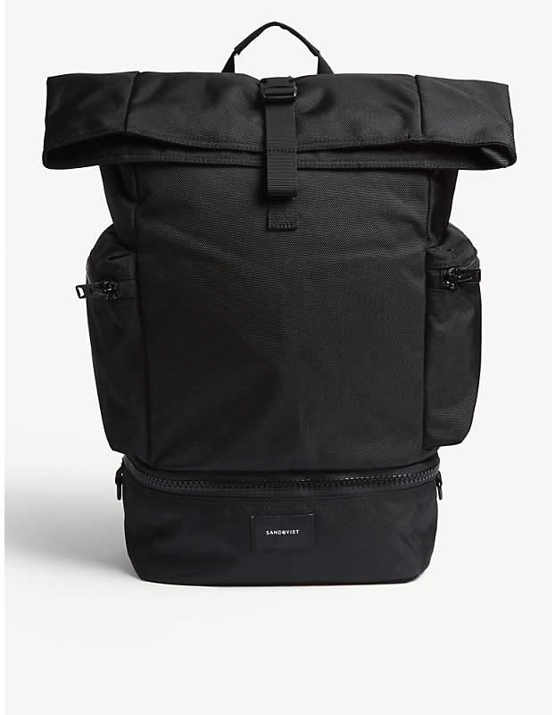 SANDQVIST Black Verner Backpack