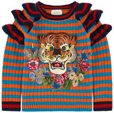 Gucci Striped woollen sweater