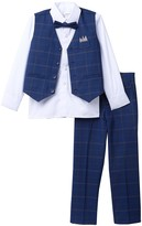 Isaac Mizrahi Multi Plaid Vest Set (Toddler & Little Boys)