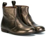 Pépé metallic ankle boots - kids - Calf Leather/Leather/rubber - 26