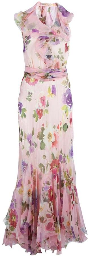 Ralph Lauren Blue Label floral dress