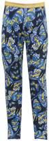 M&Co Butterfly print glitter waistband legging
