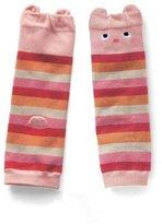 BeMall 1 pair Combed cotton Baby Cartoon Bear Kneepads Socks Unisex Leg Protector Warmer Pads(style 5)