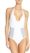 L-Space Women's L Space Fireside Halter One-Piece Swimsuit