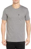Ben Sherman Prince of Wales Print T-Shirt